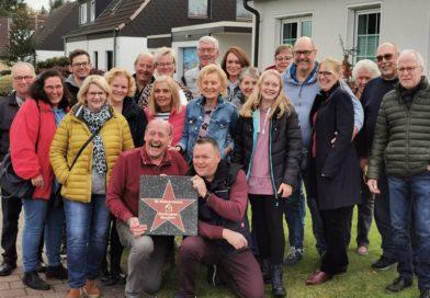 Walk of Fame in Rentfort